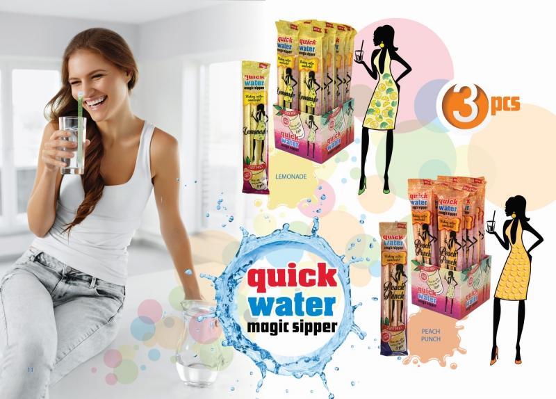 Quick Water magic straw