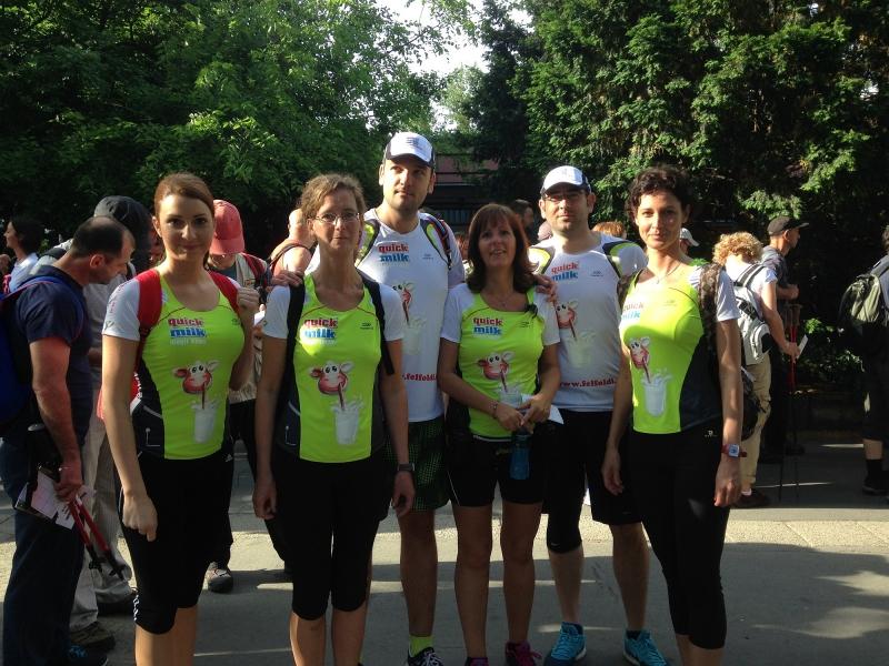 Felföldi employees entered running competition