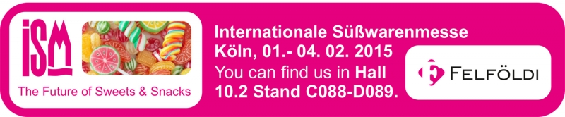 ISM 2015 Germany - sweets & snack