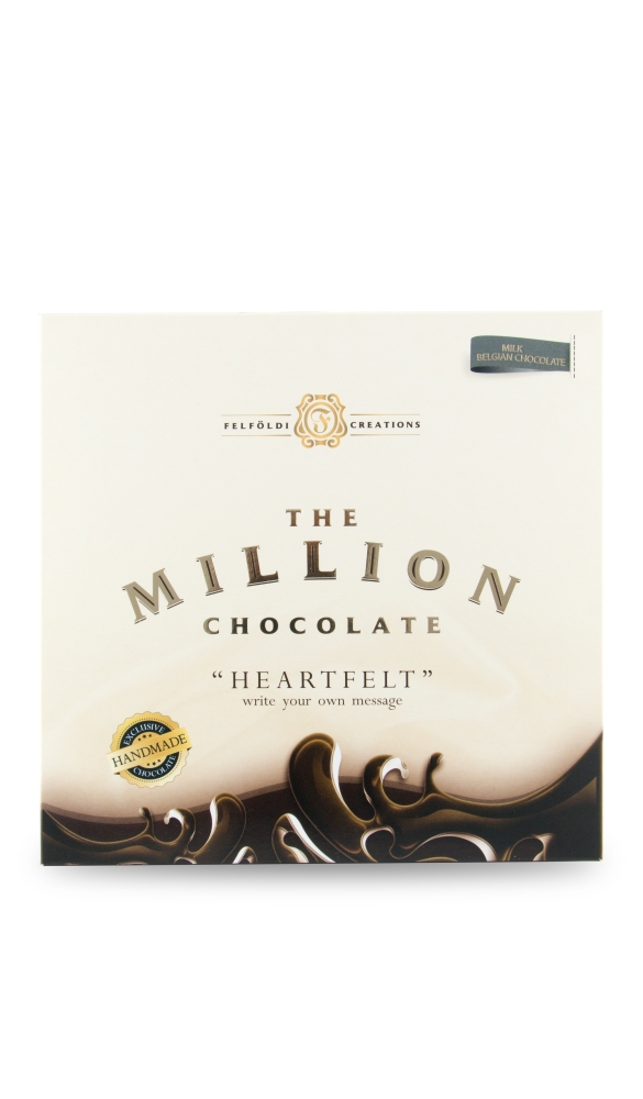 The Million Chocolate Heart with sugarstift